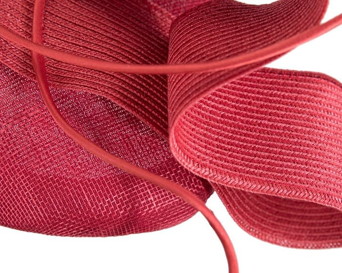 Fascinators Online - Designers red racing fascinator by Fillies Collection 3