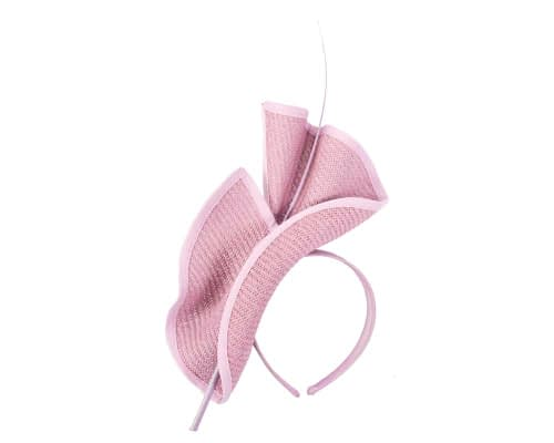 Fascinators Online - Modern Lilac racing fascinator by Max Alexander 2