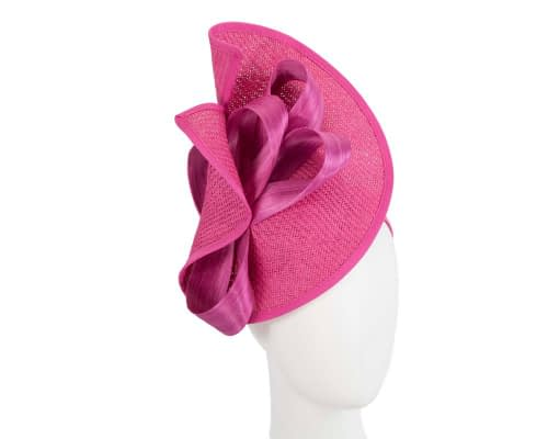 Fascinators Online - Fuchsia fascinator with bow by Fillies Collection 1