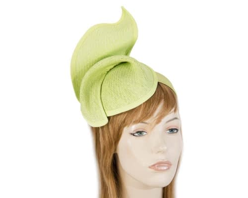 Fascinators Online - Lime twisted fascinator by Max Alexander 1