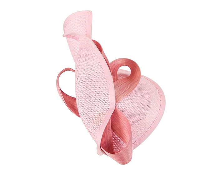 Fascinators Online - Pink fascinator with bow by Fillies Collection 4