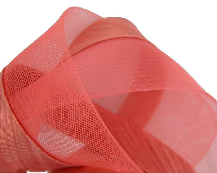 Fascinators Online - Coral turban headband by Fillies Collection 3