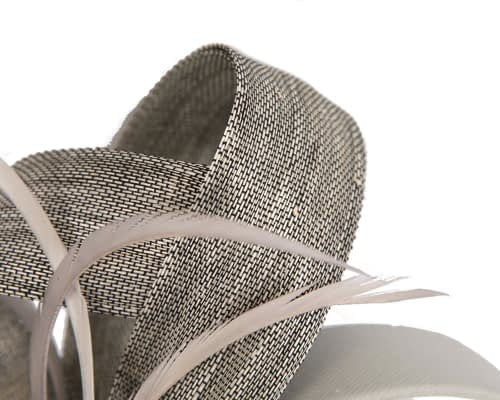 Fascinators Online - Silver loops headband fascinator by Fillies Collection 3