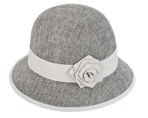 Fascinators Online - Pink boater hat by Max Alexander 7