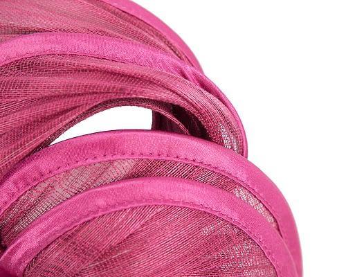 Fascinators Online - Fuchsia headband racing fascinator by Fillies Collection 3