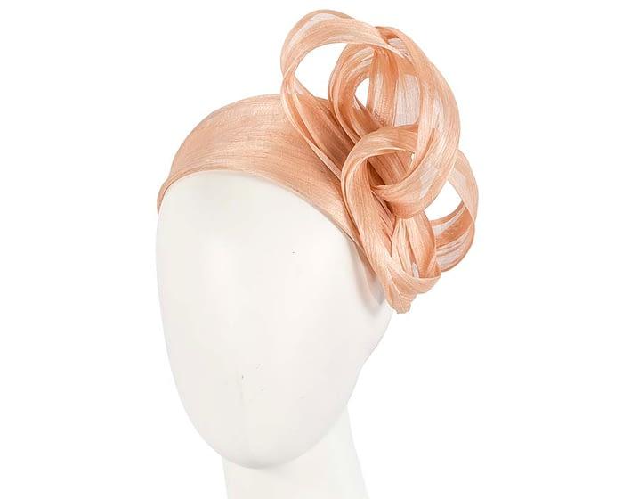 Fascinators Online - Nude retro headband fascinator by Fillies Collection 1