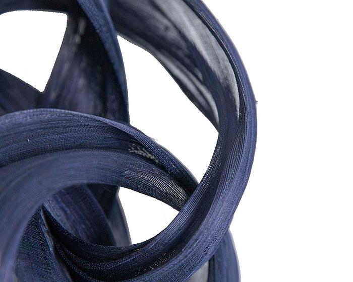 Fascinators Online - Navy retro headband fascinator by Fillies Collection 3