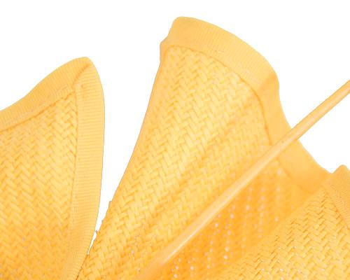 Fascinators Online - Modern Yellow racing fascinator by Max Alexander 3