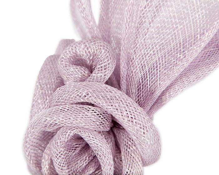 Fascinators Online - Large lilac flower headband fascinator by Max Alexander 3