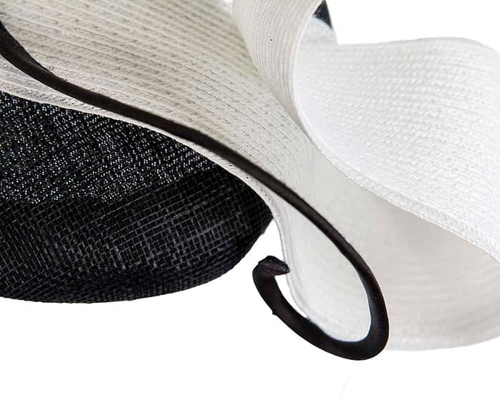 Fascinators Online - Designers black & white racing fascinator by Fillies Collection 5