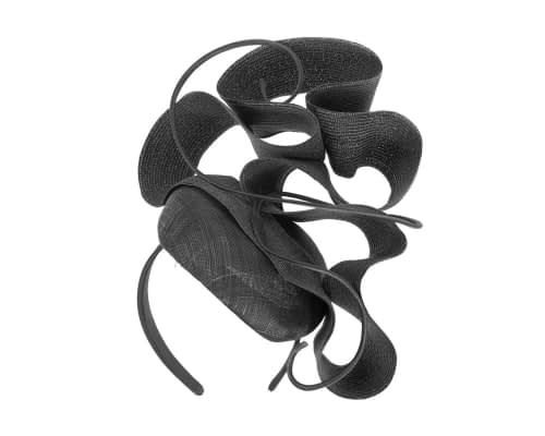 Fascinators Online - Designers black racing fascinator by Fillies Collection 2