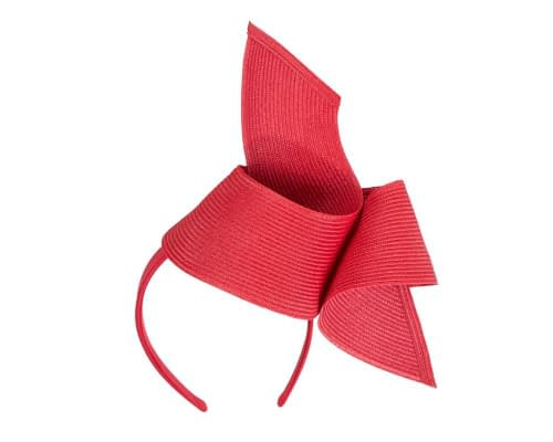 Fascinators Online - Stylish red Australian Made racing fascinator by Max Alexander 2