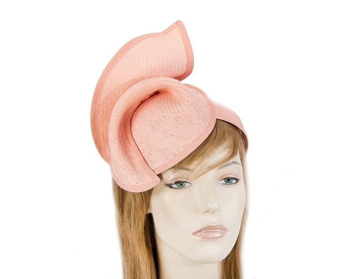 Fascinators Online - Coral twisted fascinator by Max Alexander 1