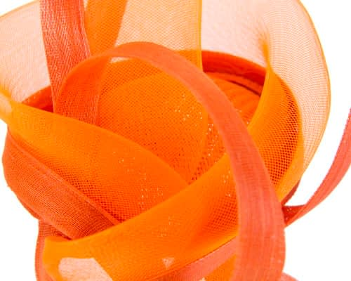 Fascinators Online - Edgy orange fascinator by Fillies Collection 4