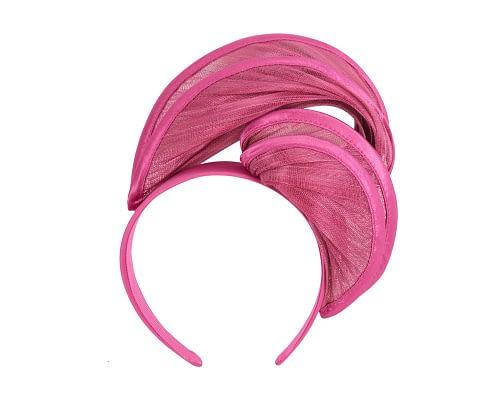 Fascinators Online - Fuchsia headband racing fascinator by Fillies Collection 2