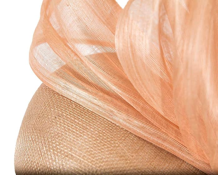Fascinators Online - Nude pillbox with bow by Fillies Collection 5