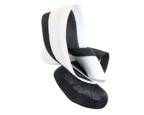 Fascinators Online - Black & white racing fascinator by Fillies Collection 6