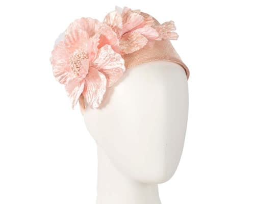 Fascinators Online - Blush flower headband fascinator by Max Alexander 38