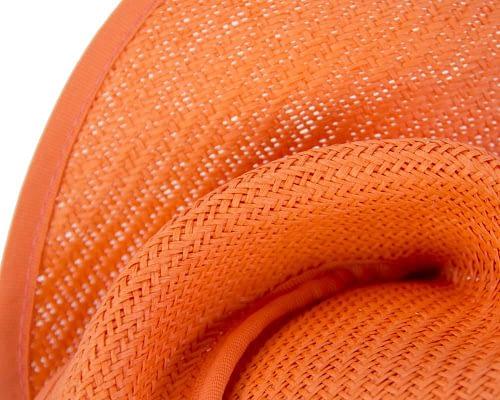 Fascinators Online - Orange twisted fascinator by Max Alexander 3