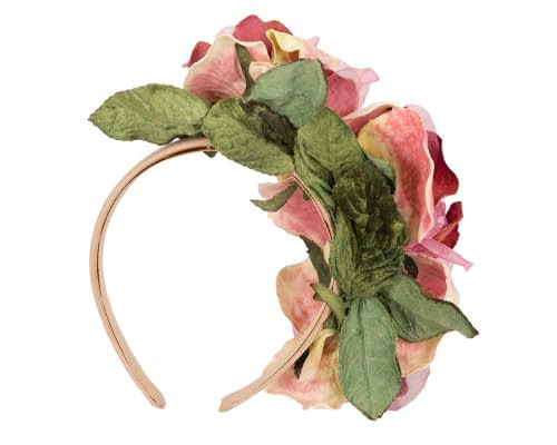 Fascinators Online - Multi-color flower headband by Max Alexander 4