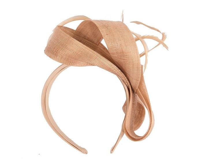 Fascinators Online - Nude loops headband fascinator by Fillies Collection 4