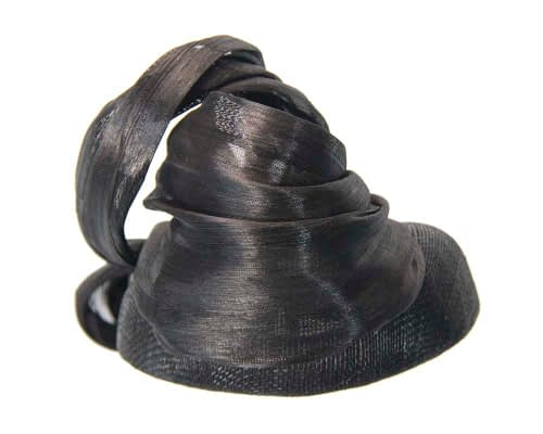 Fascinators Online - Black pillbox with bow by Fillies Collection 4
