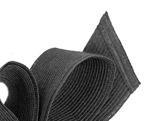 Fascinators Online - Large black bow fascinator by Max Alexander 3