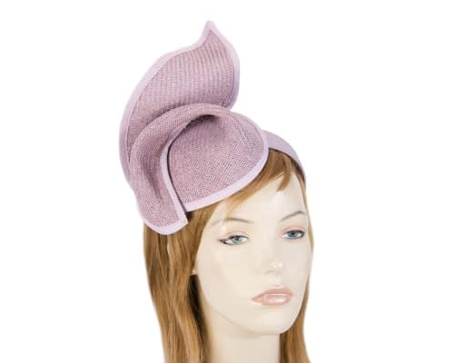 Fascinators Online - Lilac twisted fascinator by Max Alexander 1