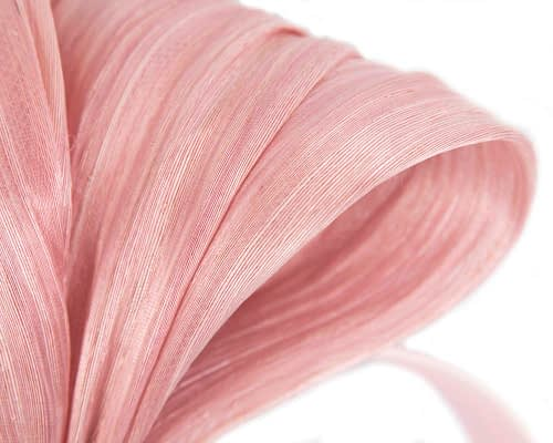 Fascinators Online - Blush bow racing fascinator by Fillies Collection 3