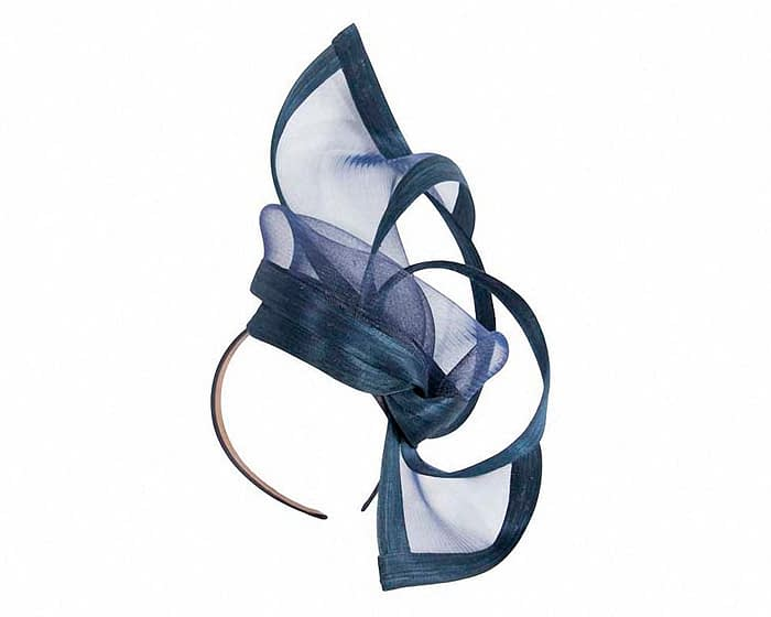Fascinators Online - Edgy navy fascinator by Fillies Collection 2