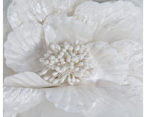 Fascinators Online - Cream flower halo 3
