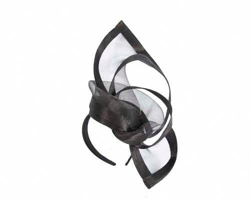 Fascinators Online - Edgy black fascinator by Fillies Collection 2