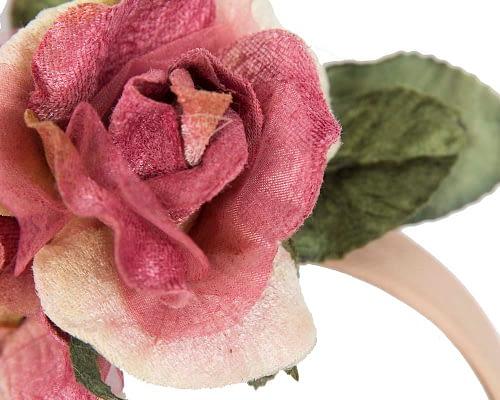 Fascinators Online - Multi-color flower headband by Max Alexander 3