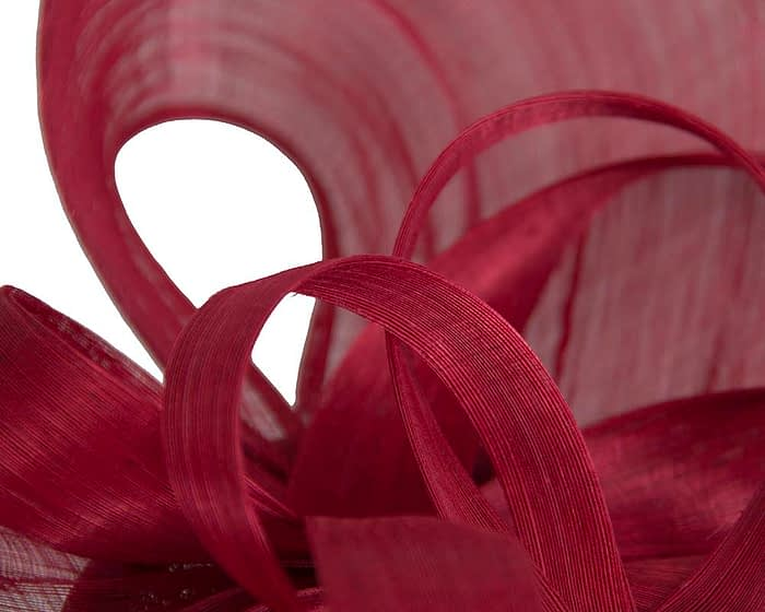 Fascinators Online - Large red heart fascinator by Fillies Collection 3