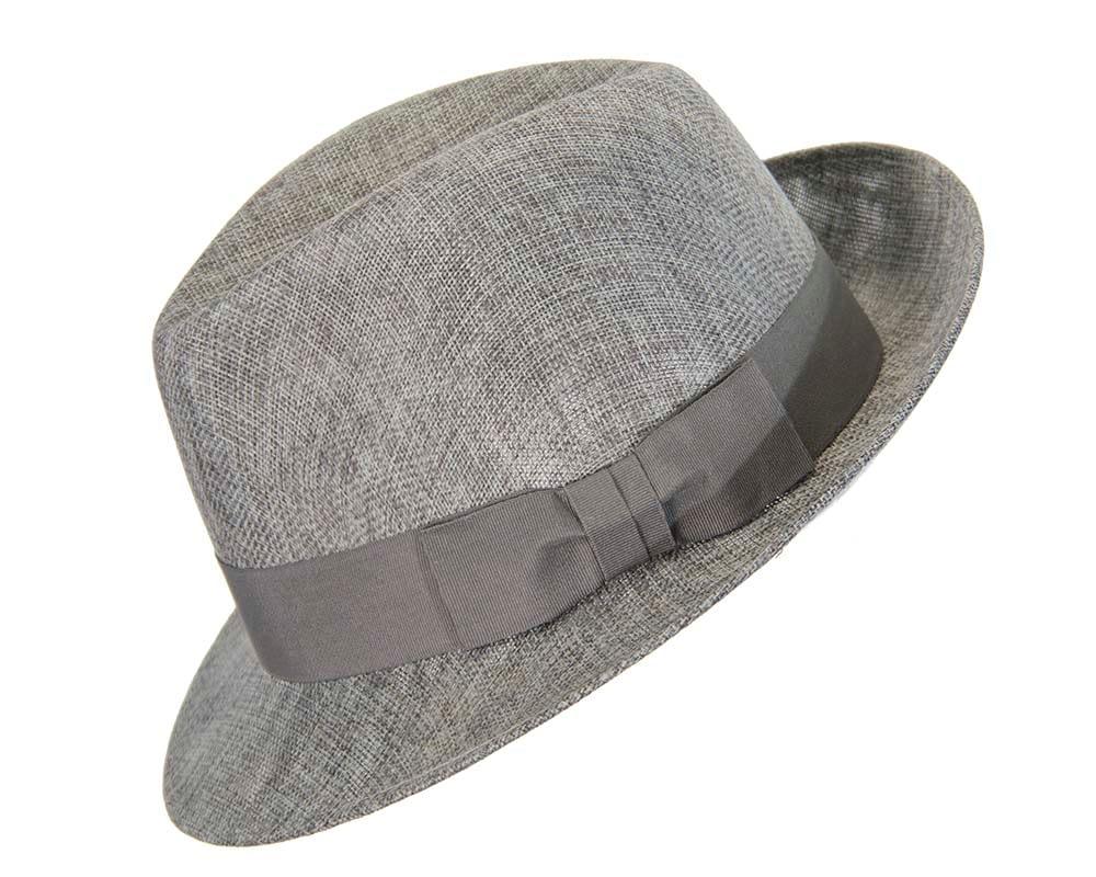 4f3d980e9091e Grey mens summer fedora hat Online in Australia | Hats From OZ