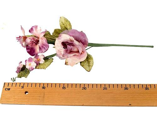 Craft & Millinery Supplies -- Trish Millinery- FL55 lilac