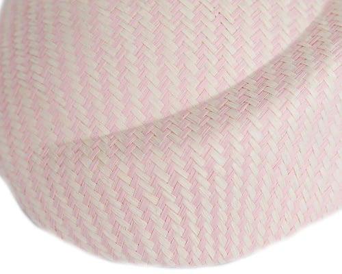 Craft & Millinery Supplies -- Trish Millinery- SH4 cream pink closeup