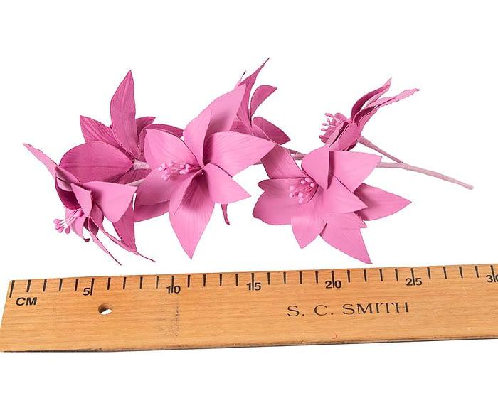 Craft & Millinery Supplies -- Trish Millinery- FL65 fuchsia
