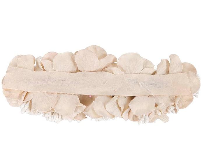 Craft & Millinery Supplies -- Trish Millinery- FL42 cream back