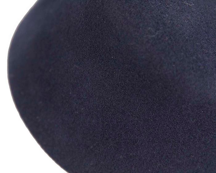 Craft & Millinery Supplies -- Trish Millinery- SH8 navy closeup