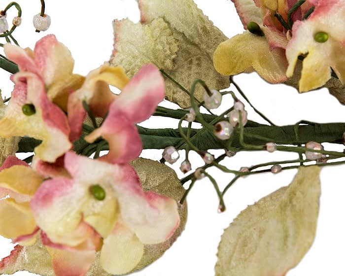 Craft & Millinery Supplies -- Trish Millinery- FL56 peach closeup