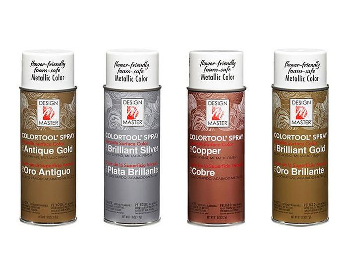 Craft & Millinery Supplies -- Trish Millinery- design master colortool metal spray