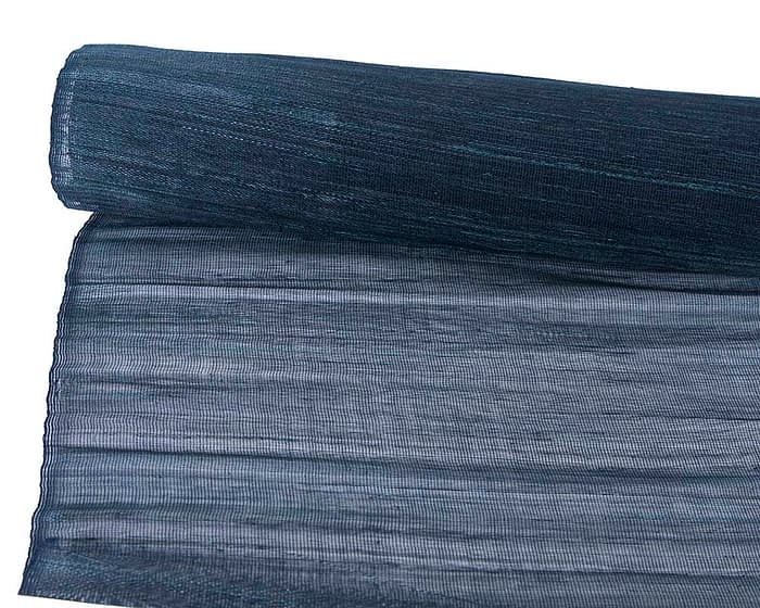 Craft & Millinery Supplies -- Trish Millinery- cotton abaca navy