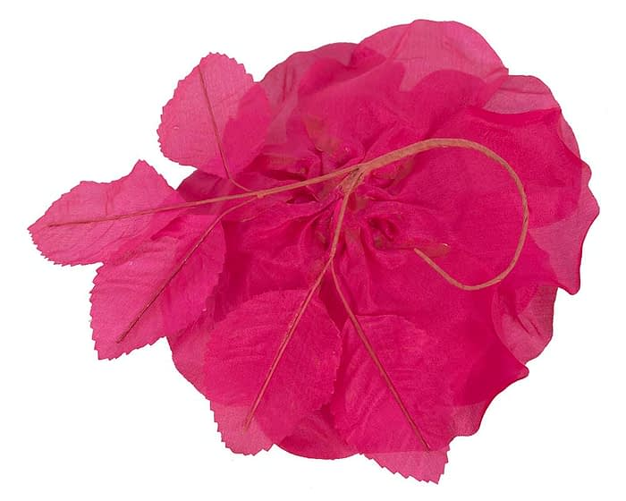 Craft & Millinery Supplies -- Trish Millinery- FL51 hot pink back