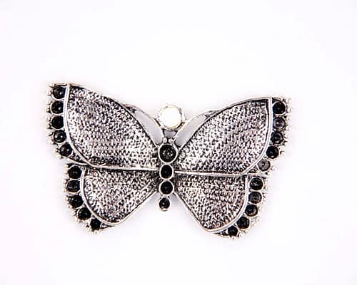 Craft & Millinery Supplies -- Trish Millinery- metal batterfly buckle millinery craft