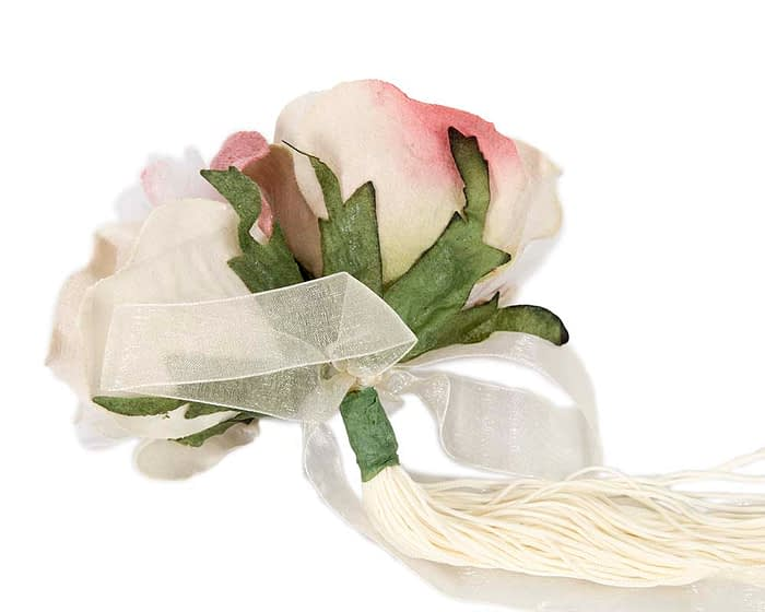 Craft & Millinery Supplies -- Trish Millinery- FL47 dusty pink back