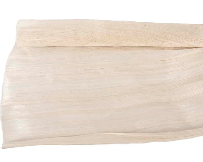 Craft & Millinery Supplies -- Trish Millinery- silk abaca cream