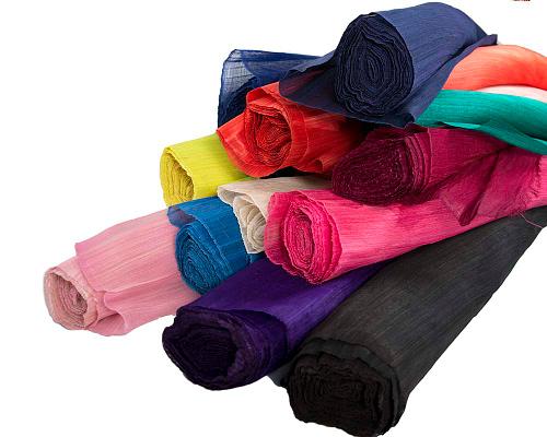 Craft & Millinery Supplies -- Trish Millinery- silk abaca1