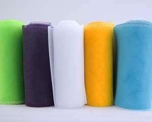 Craft & Millinery Supplies -- Trish Millinery- crinoline 6 inches plain rolls thumb