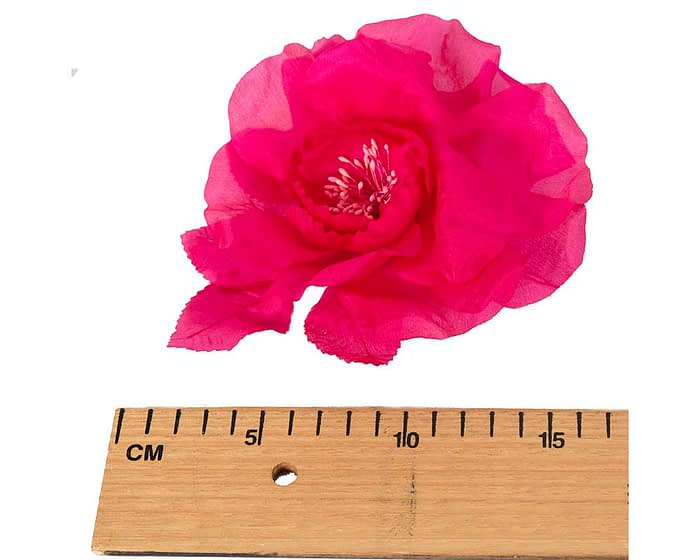 Craft & Millinery Supplies -- Trish Millinery- FL51 hot pink